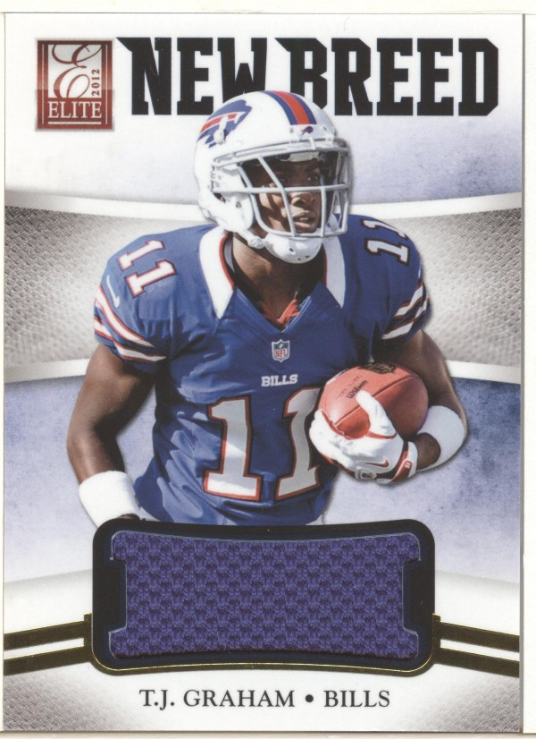 2012 Elite New Breed Jerseys #24 T.J. Graham/399