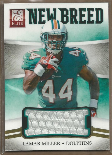 2012 Elite New Breed Jerseys #31 Lamar Miller/399