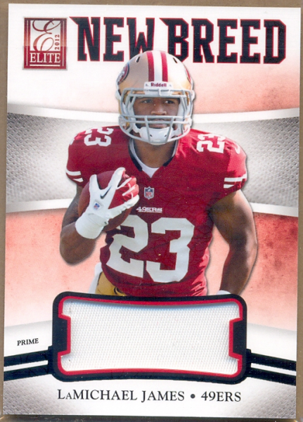 2012 Elite New Breed Jerseys Prime #19 LaMichael James/49