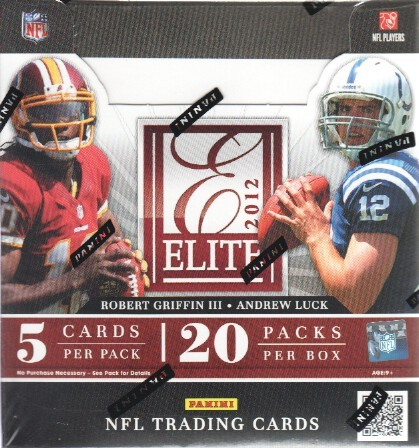 2012 Elite Football Hobby Box