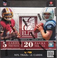 2012 Elite Football Hobby Box front image