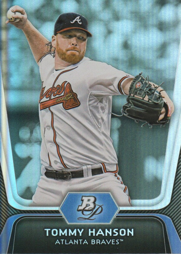 2012 Bowman Platinum #18 Tommy Hanson