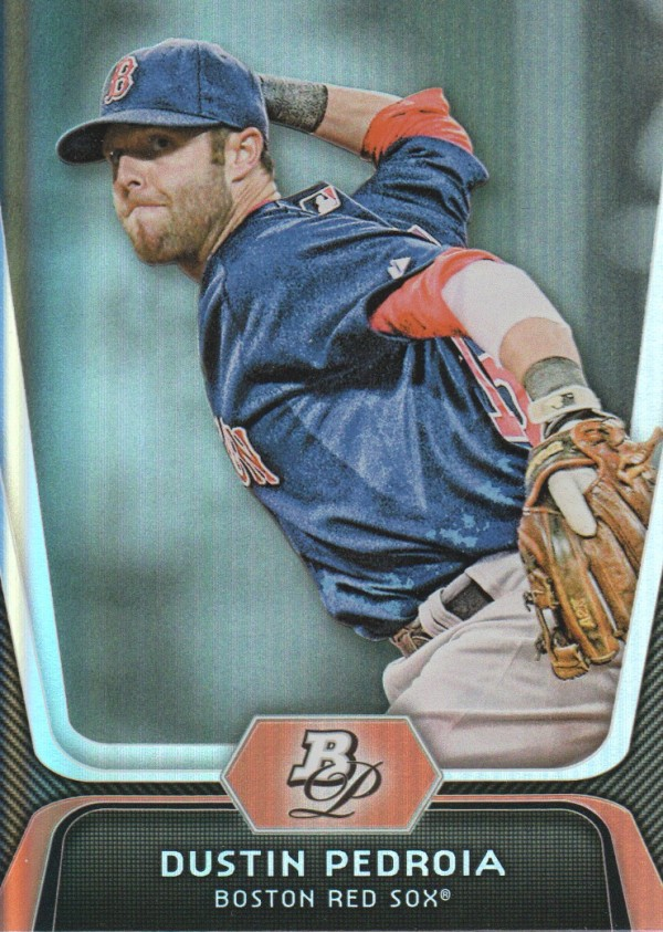 2012 Bowman Platinum #19 Dustin Pedroia