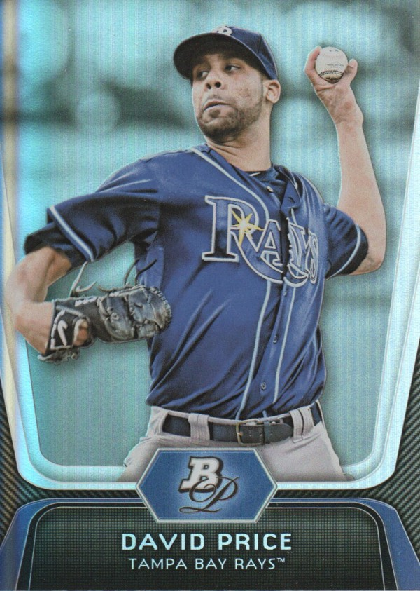 2012 Bowman Platinum #28 David Price