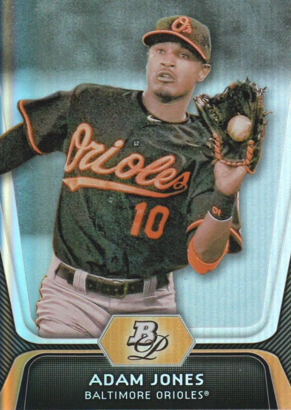 2012 Bowman Platinum #33 Adam Jones