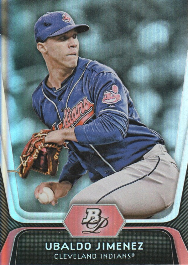 2012 Bowman Platinum #40 Ubaldo Jimenez