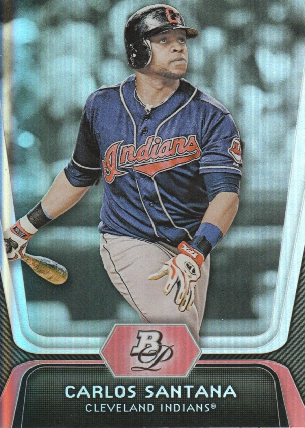 2012 Bowman Platinum #41 Carlos Santana