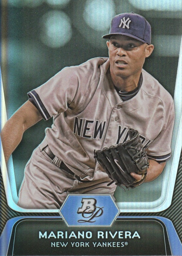 2012 Bowman Platinum #45 Mariano Rivera