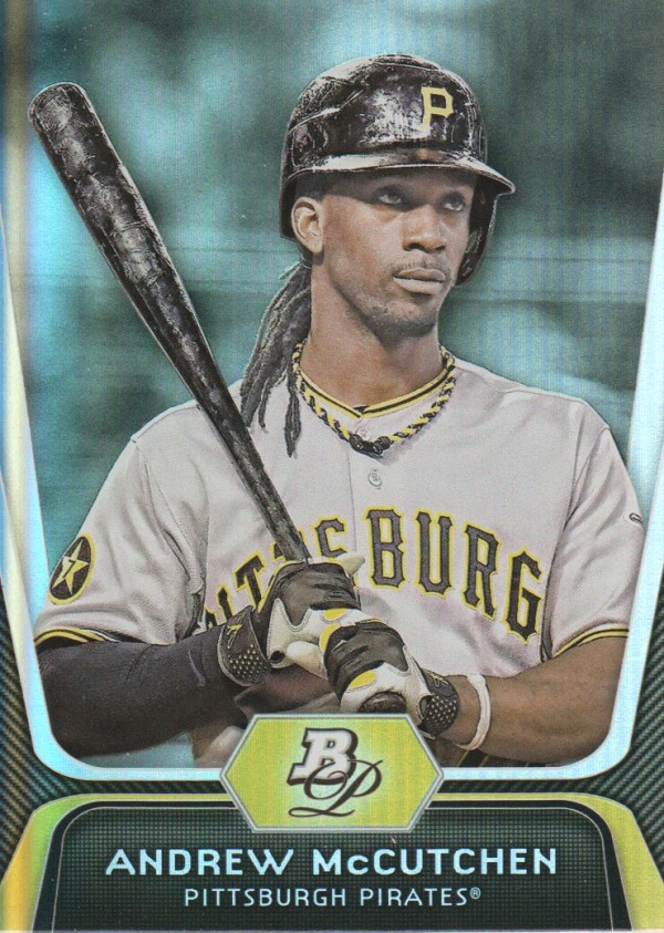 2012 Bowman Platinum #46 Andrew McCutchen