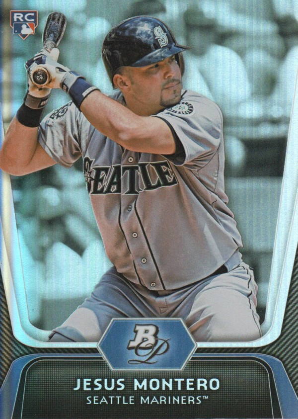 2012 Bowman Platinum #65 Jesus Montero