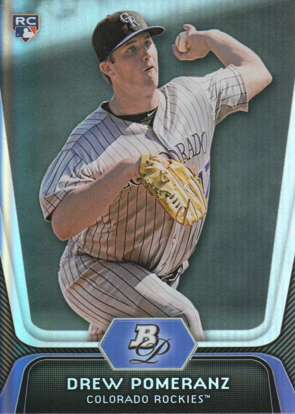 2012 Bowman Platinum #69 Drew Pomeranz RC