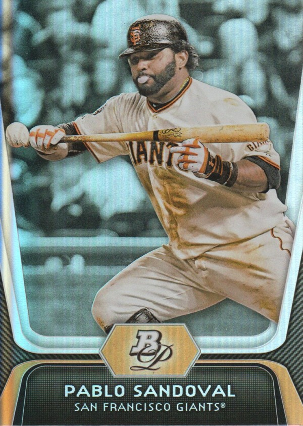 2012 Bowman Platinum #77 Pablo Sandoval