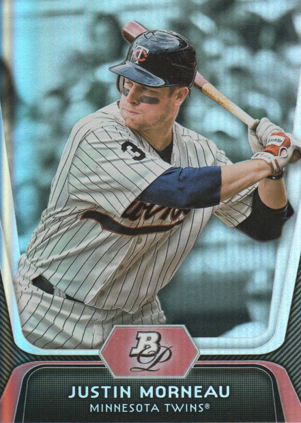 2012 Bowman Platinum #84 Justin Morneau