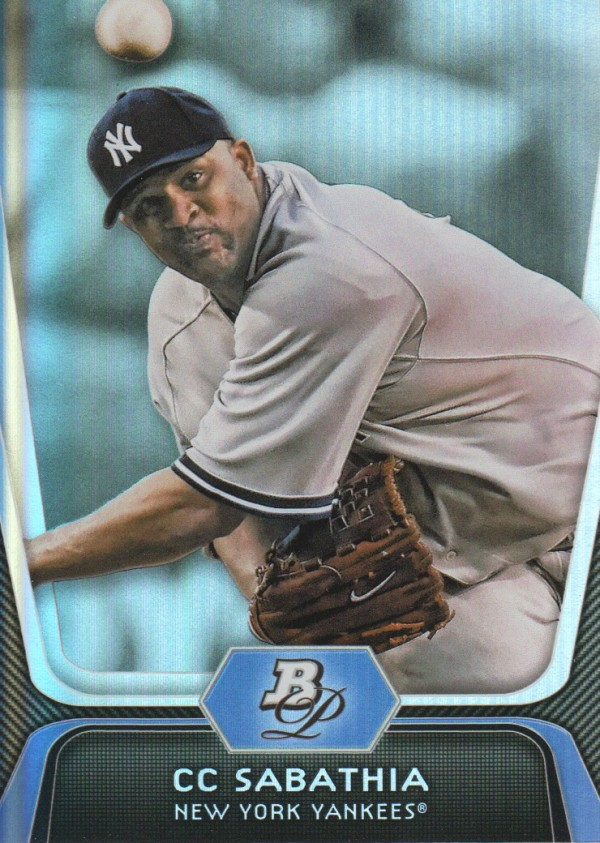 2012 Bowman Platinum #88 CC Sabathia