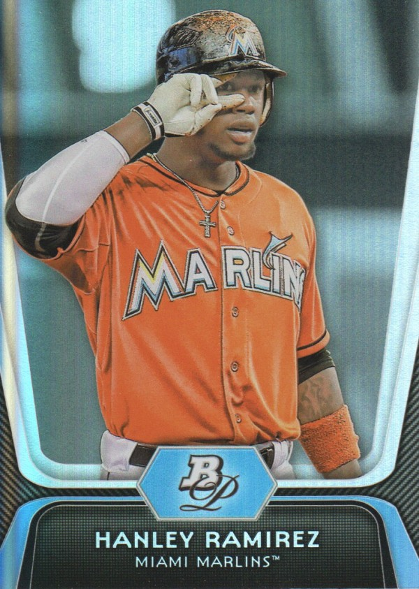 2012 Bowman Platinum #89 Hanley Ramirez