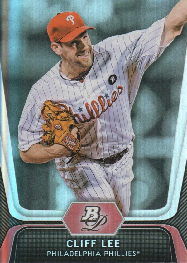 2012 Bowman Platinum #91 Cliff Lee