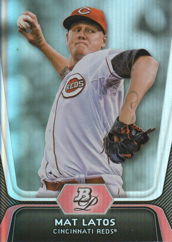 2012 Bowman Platinum #94 Mat Latos