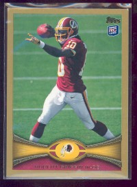 2012 Topps Gold #340 Robert Griffin III