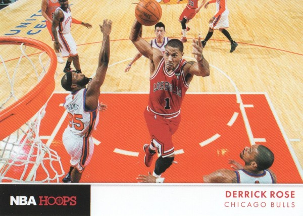 2012-13 Hoops Action Photos #7 Derrick Rose