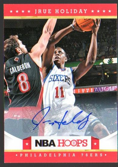 2012-13 Hoops Autographs #24 Jrue Holiday SP