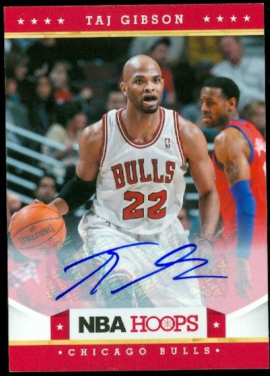 2012-13 Hoops Autographs #79 Taj Gibson