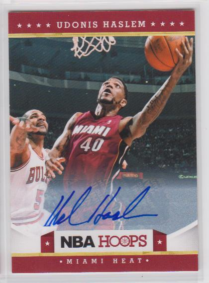 2012-13 Hoops Autographs #161 Udonis Haslem