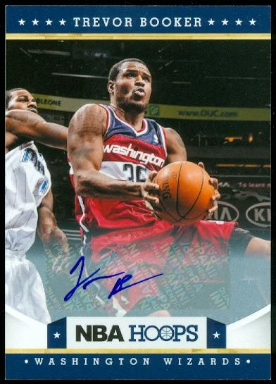 2012-13 Hoops Autographs #173 Trevor Booker