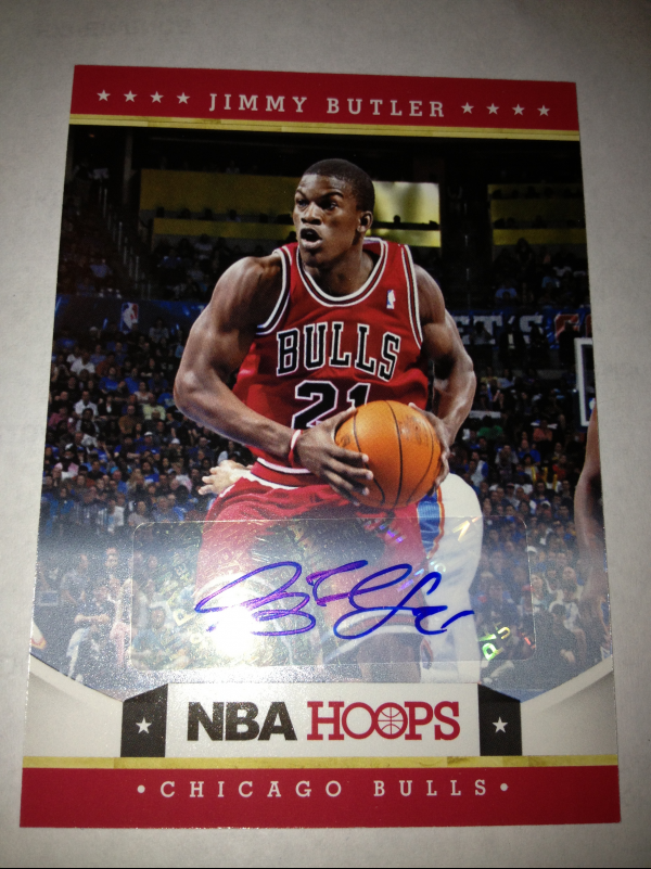 2012-13 Hoops Autographs #249 Jimmy Butler