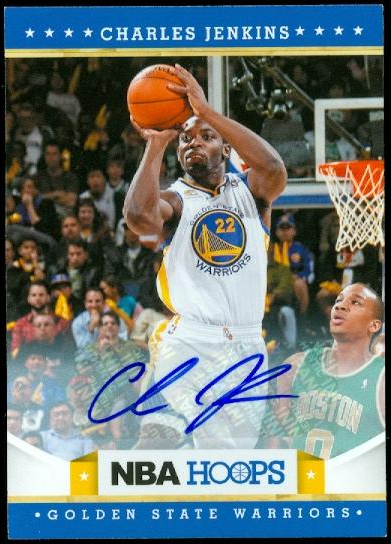 2012-13 Hoops Autographs #251 Charles Jenkins