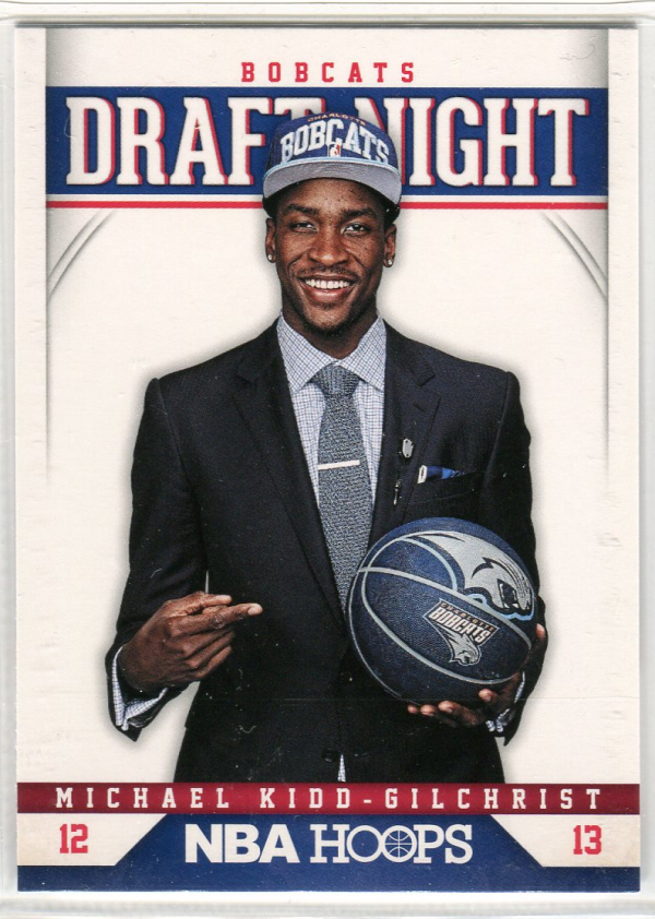 2012-13 Hoops Draft Night #2 Michael Kidd-Gilchrist