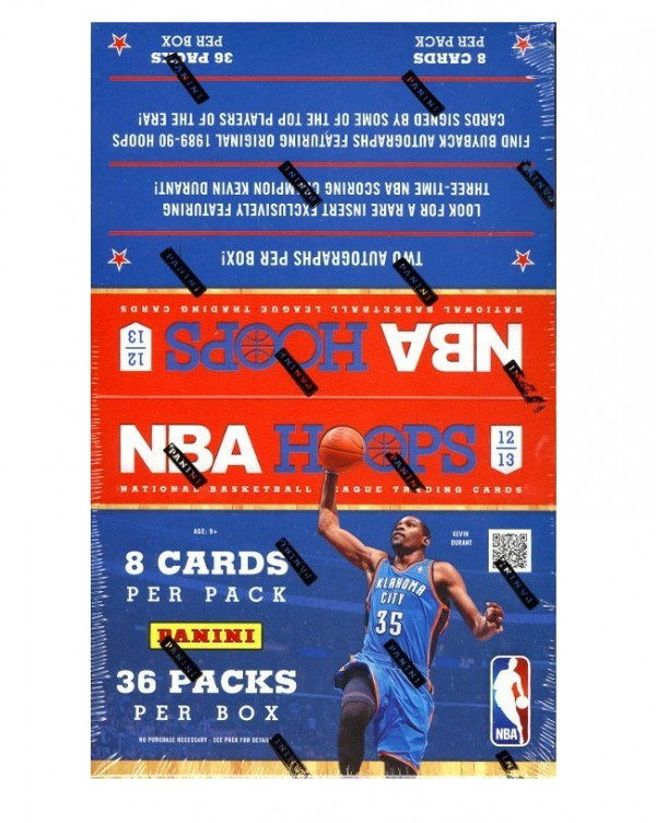 2012-13 Hoops Basketball Hobby Box