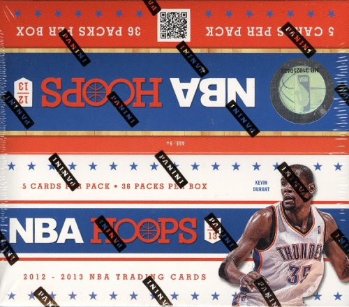 2012-13 Hoops Basketball Retail Box