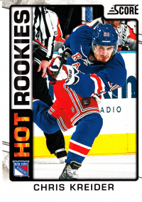 2012-13 Score #543 Chris Kreider HR RC