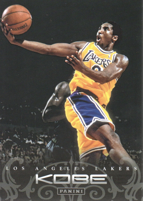 2012-13 Panini Kobe Anthology #13 Kobe Bryant