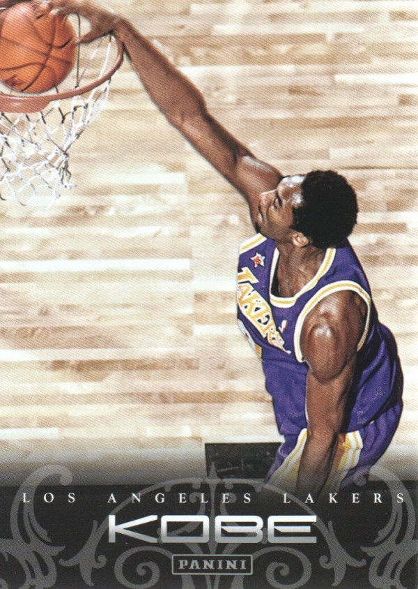 2012-13 Panini Kobe Anthology #15 Kobe Bryant