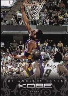 2012-13 Panini Kobe Anthology #34 Kobe Bryant