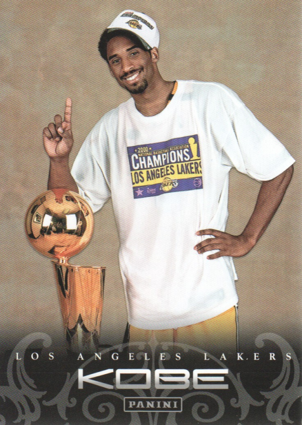 2012-13 Panini Kobe Anthology #35 Kobe Bryant