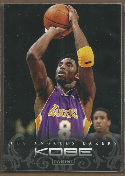 2012-13 Panini Kobe Anthology #42 Kobe Bryant