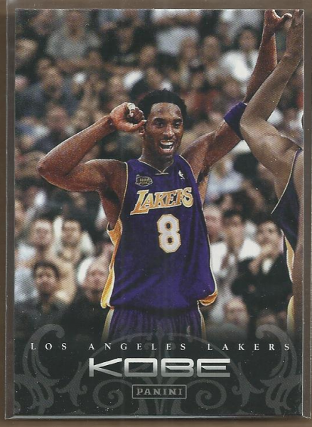 2012-13 Panini Kobe Anthology #50 Kobe Bryant