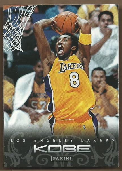 2012-13 Panini Kobe Anthology #55 Kobe Bryant