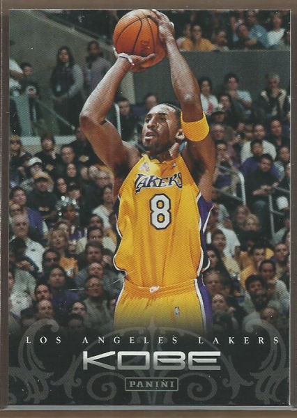2012-13 Panini Kobe Anthology #58 Kobe Bryant