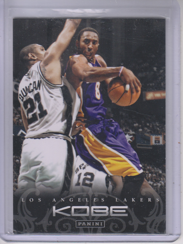 2012-13 Panini Kobe Anthology #59 Kobe Bryant