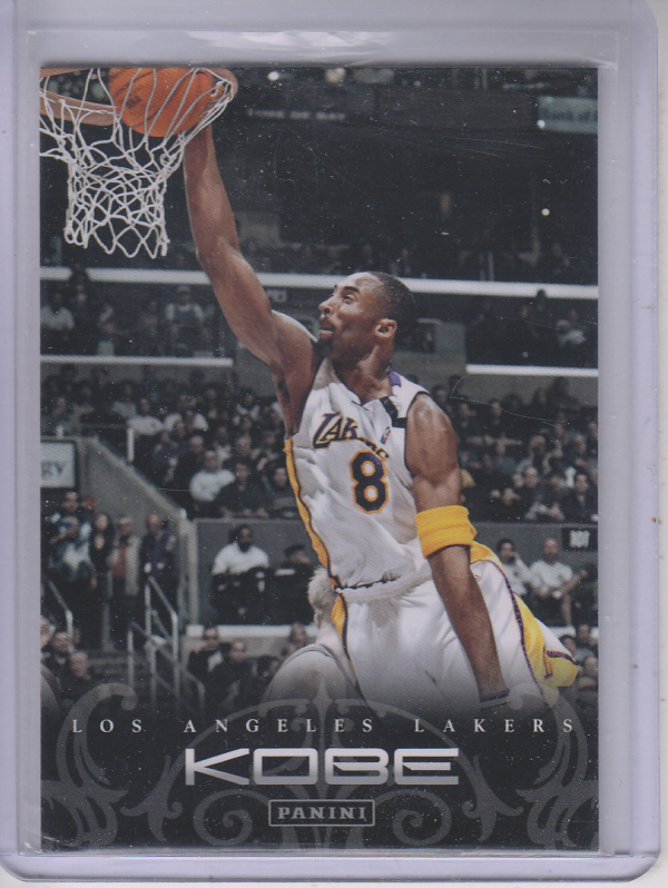 2012-13 Panini Kobe Anthology #81 Kobe Bryant
