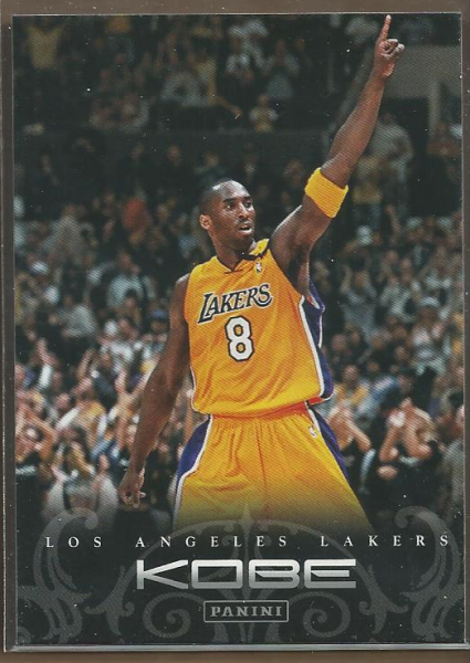 2012-13 Panini Kobe Anthology #84 Kobe Bryant