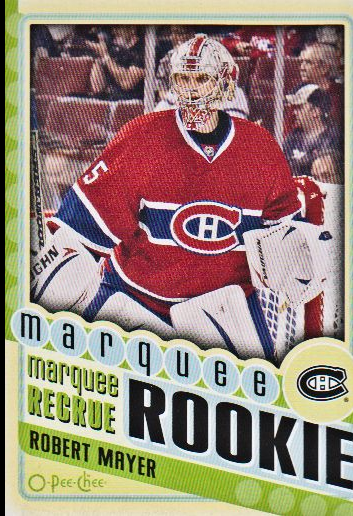 2012-13 O-Pee-Chee #580 Robert Mayer RC