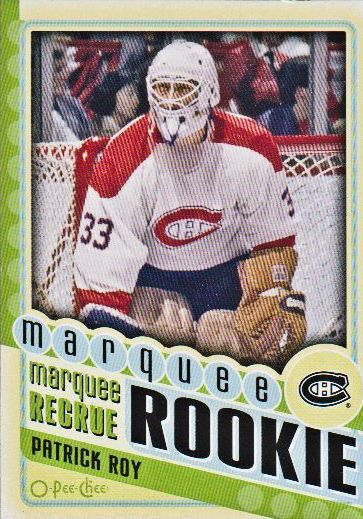 2012-13 O-Pee-Chee #598 Patrick Roy MR