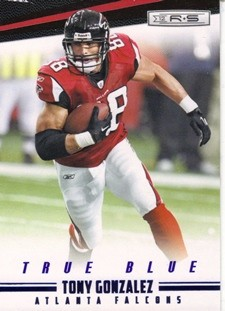 2012 Rookies and Stars True Blue #10 Tony Gonzalez