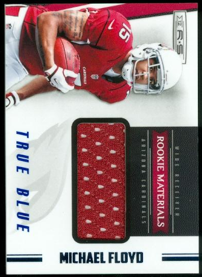 2012 Rookies and Stars True Blue #221 Michael Floyd JSY