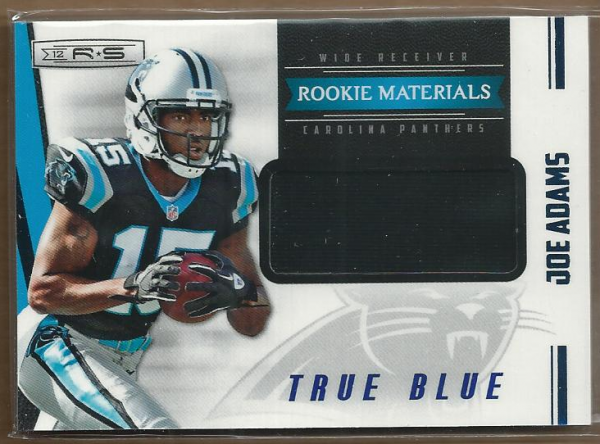 2012 Rookies and Stars True Blue #236 Joe Adams JSY