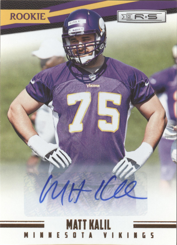 2012 Rookies and Stars Autographs #193 Matt Kalil/499